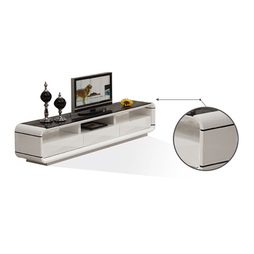 Coffee Table White Gloss Black Glass Top Coffee Table: BN DESIGN HIGH GLOSS WHITE COFFEE TABLE AND TV STAND WITH